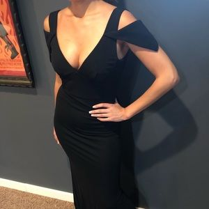 ABS Black Gown